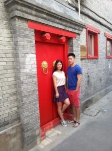 Cover shoot off Wudaoying Hutong