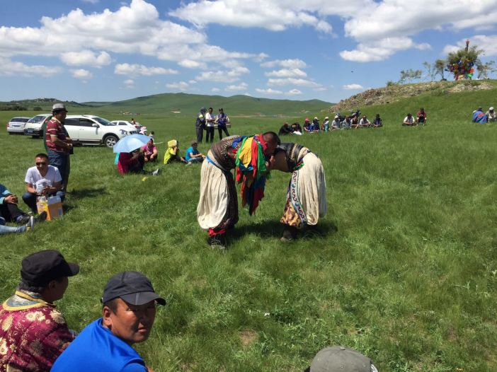 It was a treat to watch a Mongolian wrestling match and take part in the celebration feast of lamb and horse intestines in the Hills of Siriguleng and Halagatu.